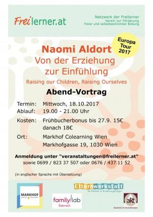 Naomi Aldort Vortrag in Wien