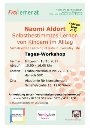 Naomi Aldort Workshop in Wien